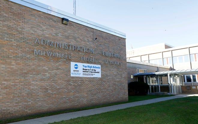 The Milwaukee Public Schools administrative building.