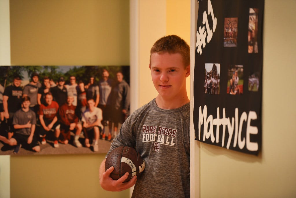 Super Bowl ticket surprise for man with Down syndrome - NJ football