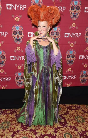 Founder of The New York Restoration Project, Bette Midler, revived her iconic character for Halloween.