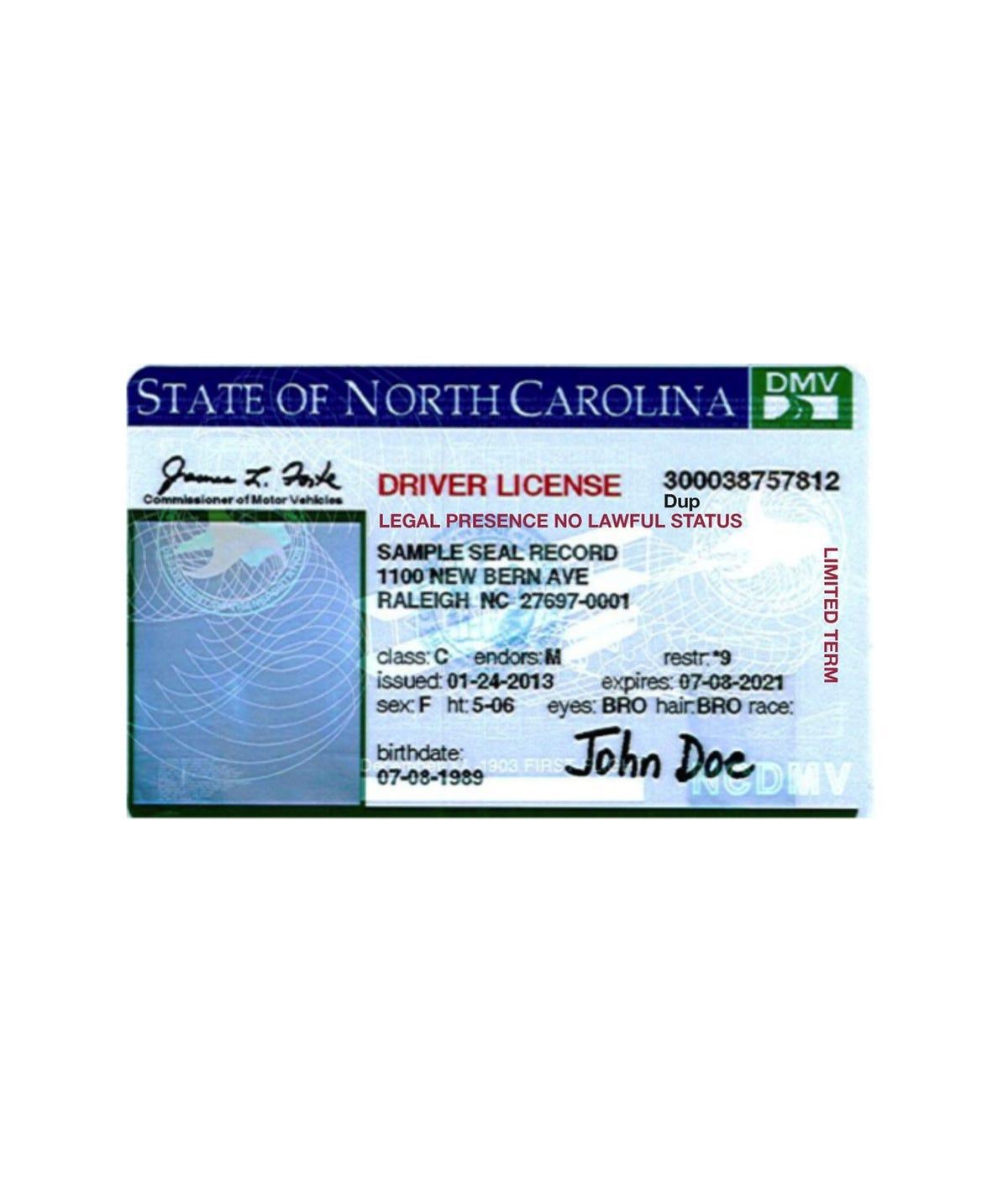 new bern nc drivers license office