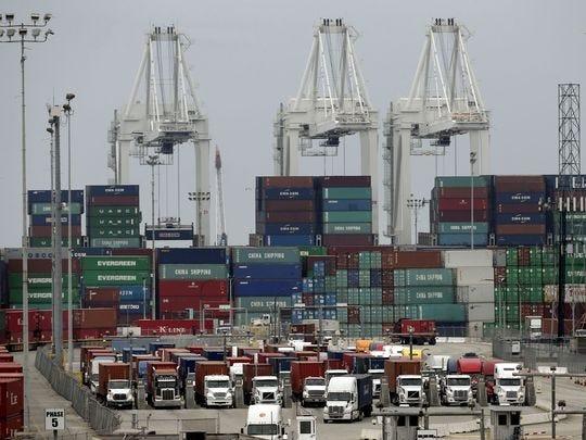 Record exports cut US trade deficit to $49 billion