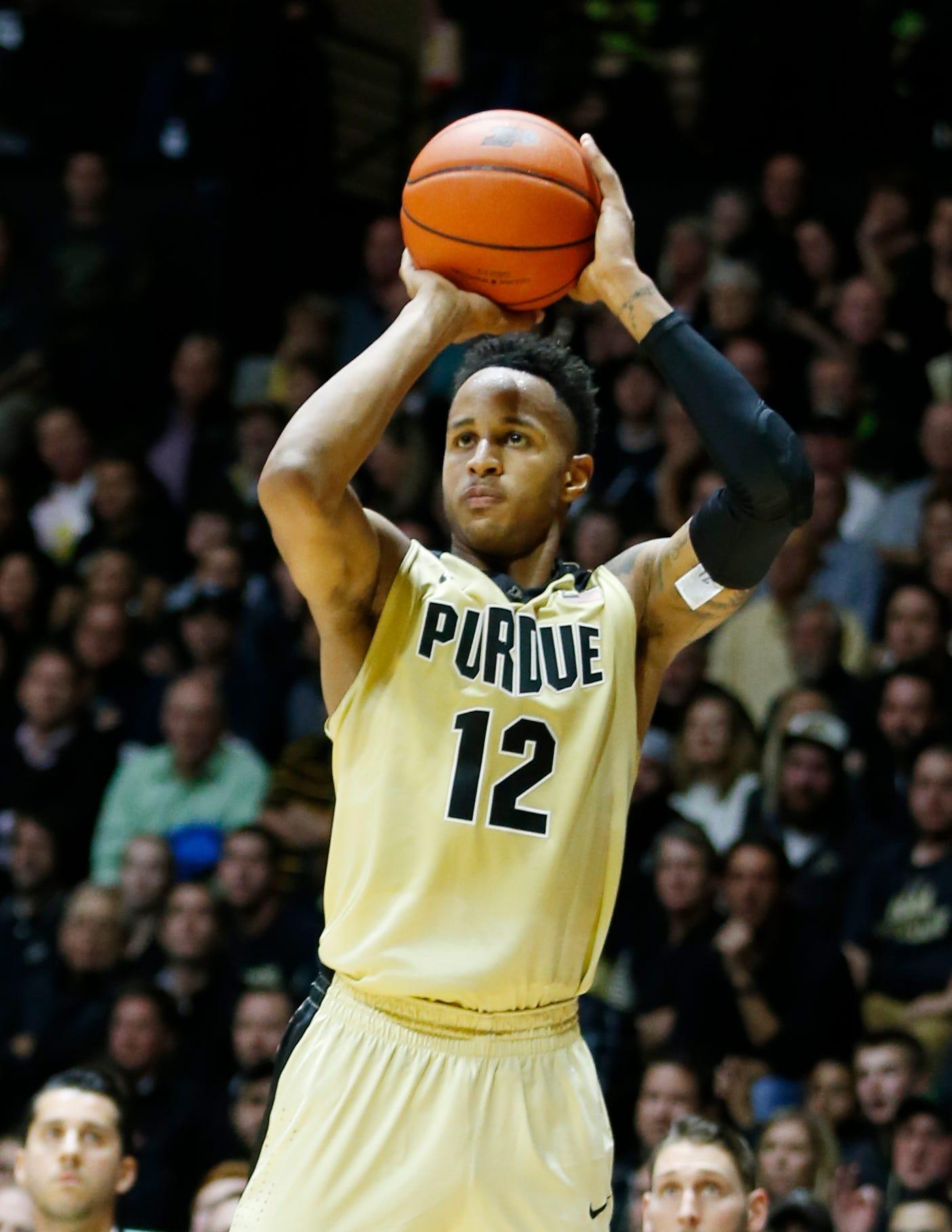 Purdue's Vincent Edwards returning for senior year