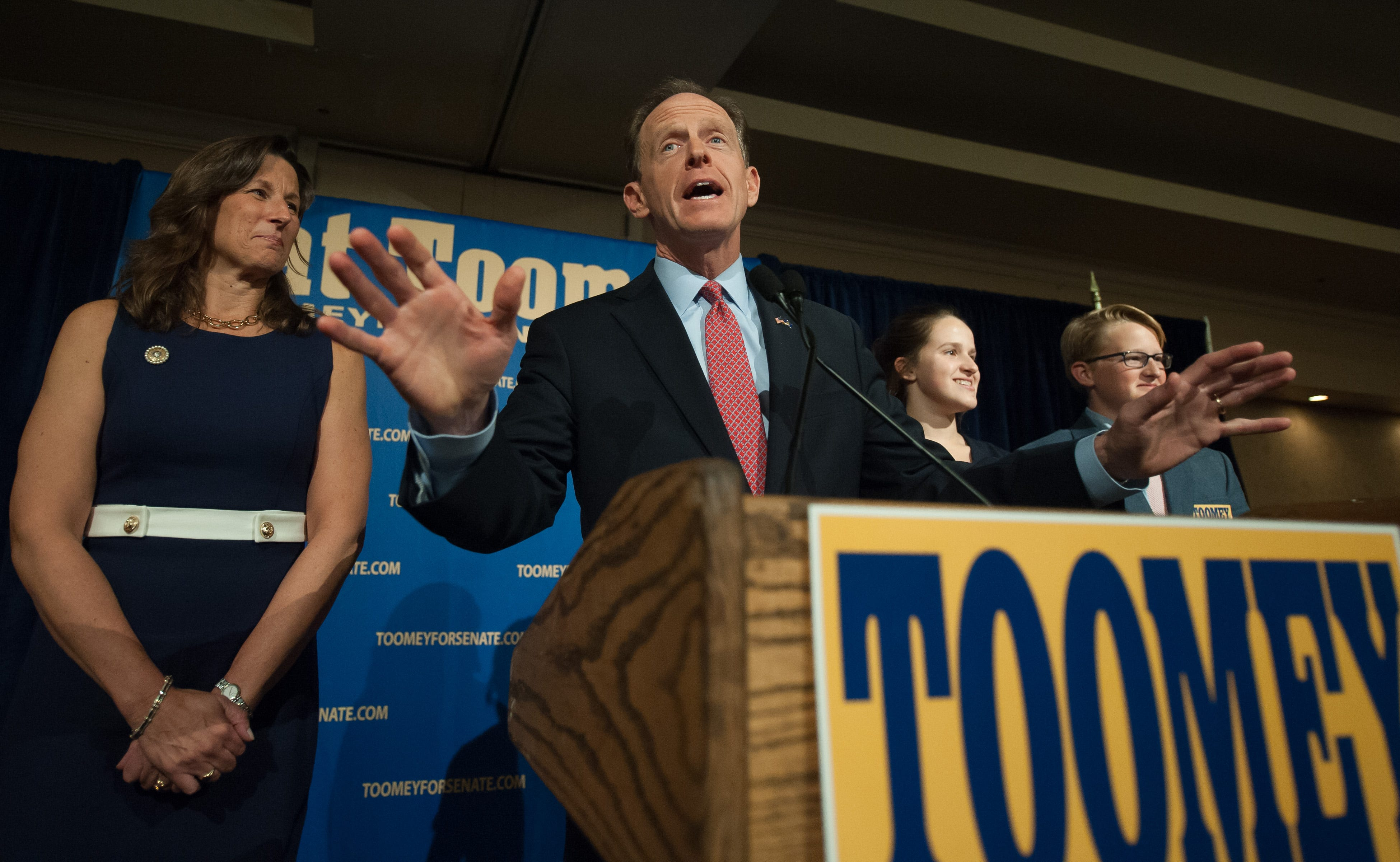 Sen. Pat Toomey on health care delay: I didn't think Trump would win presidency