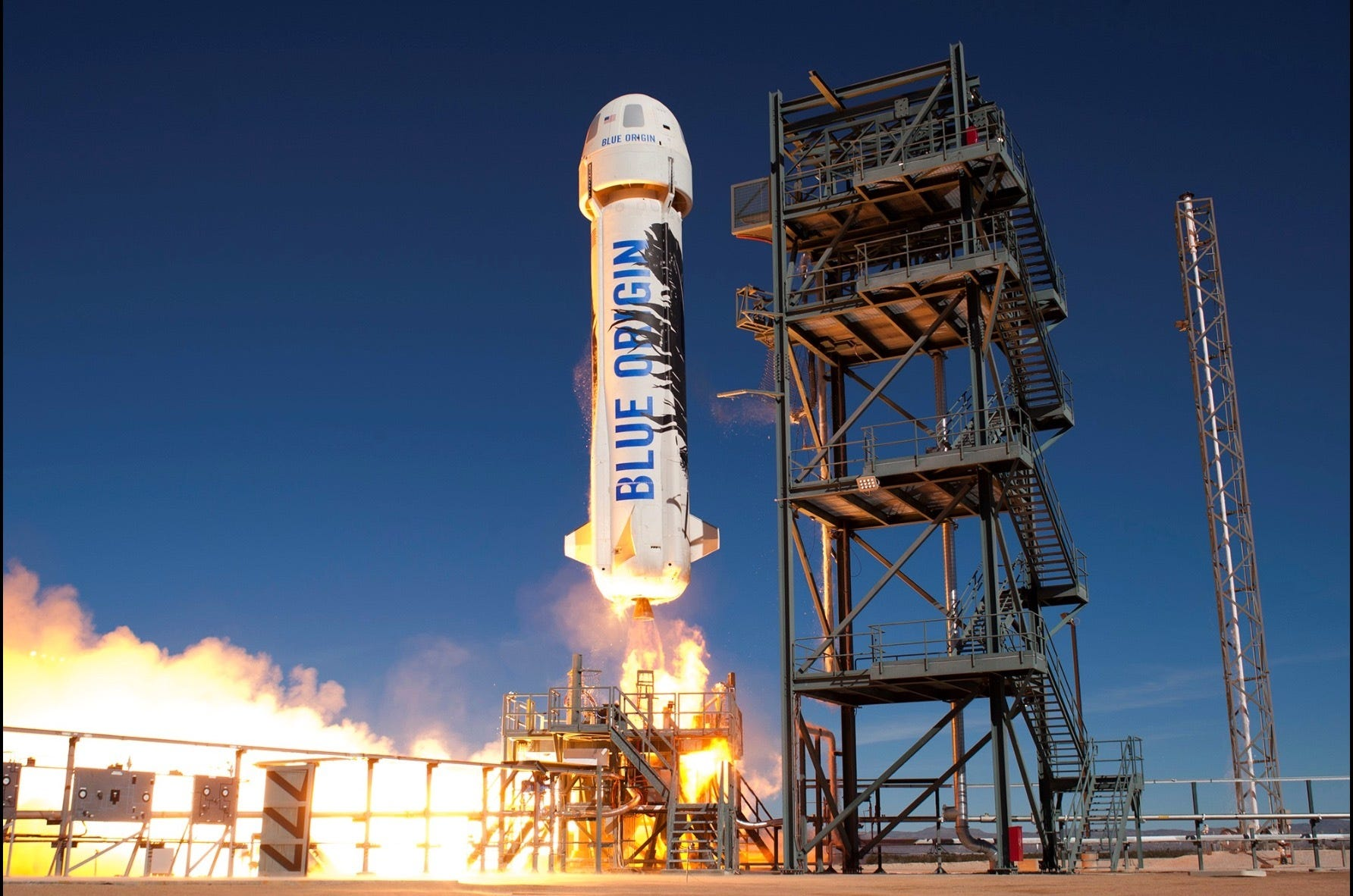 'Alexa, take me to the moon.' Jeff Bezos' Blue Origin mission will be first commercial moon landing