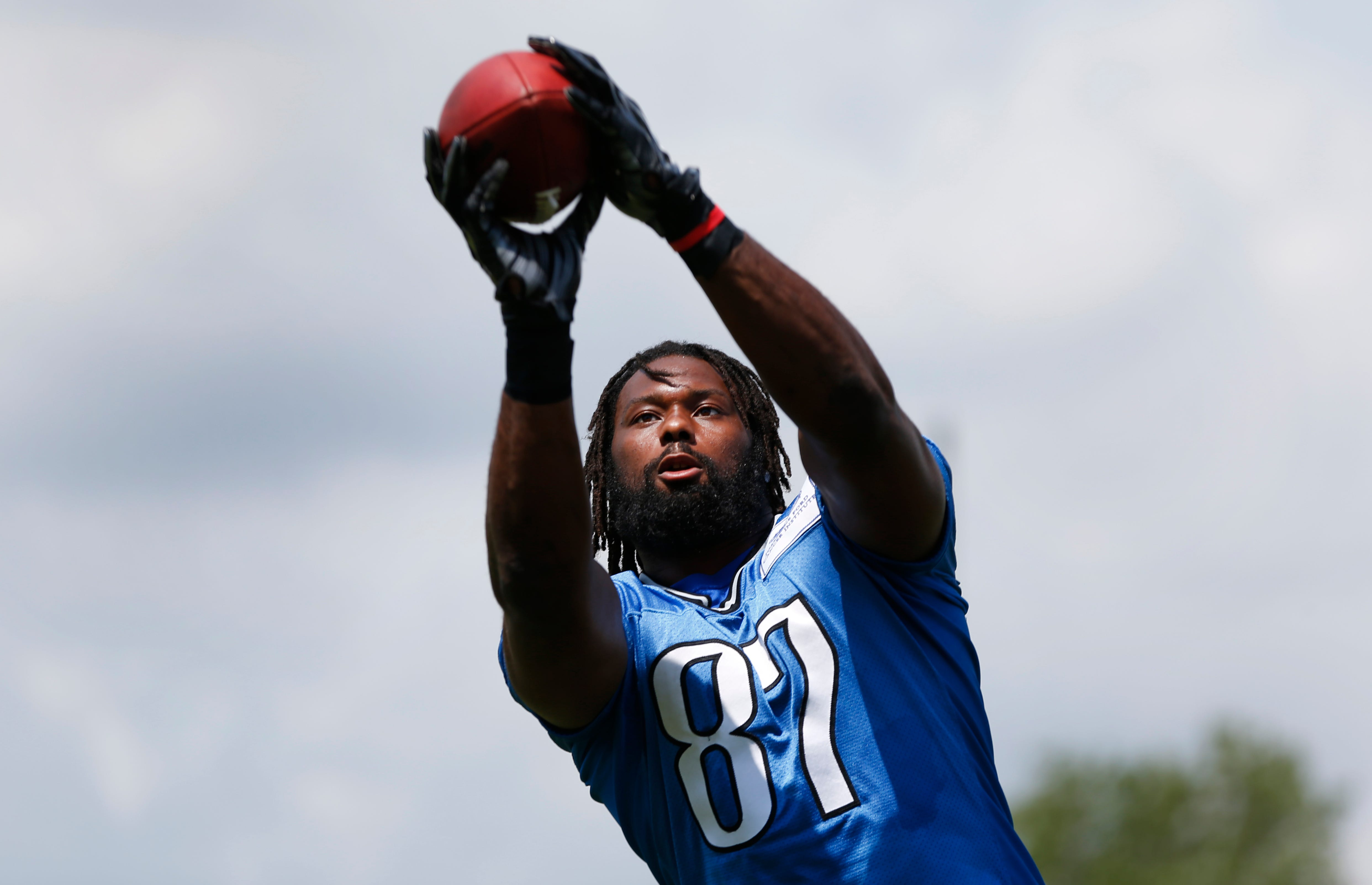 Ex-Detroit Lions TE Brandon Pettigrew arrested after punching police officer, per report