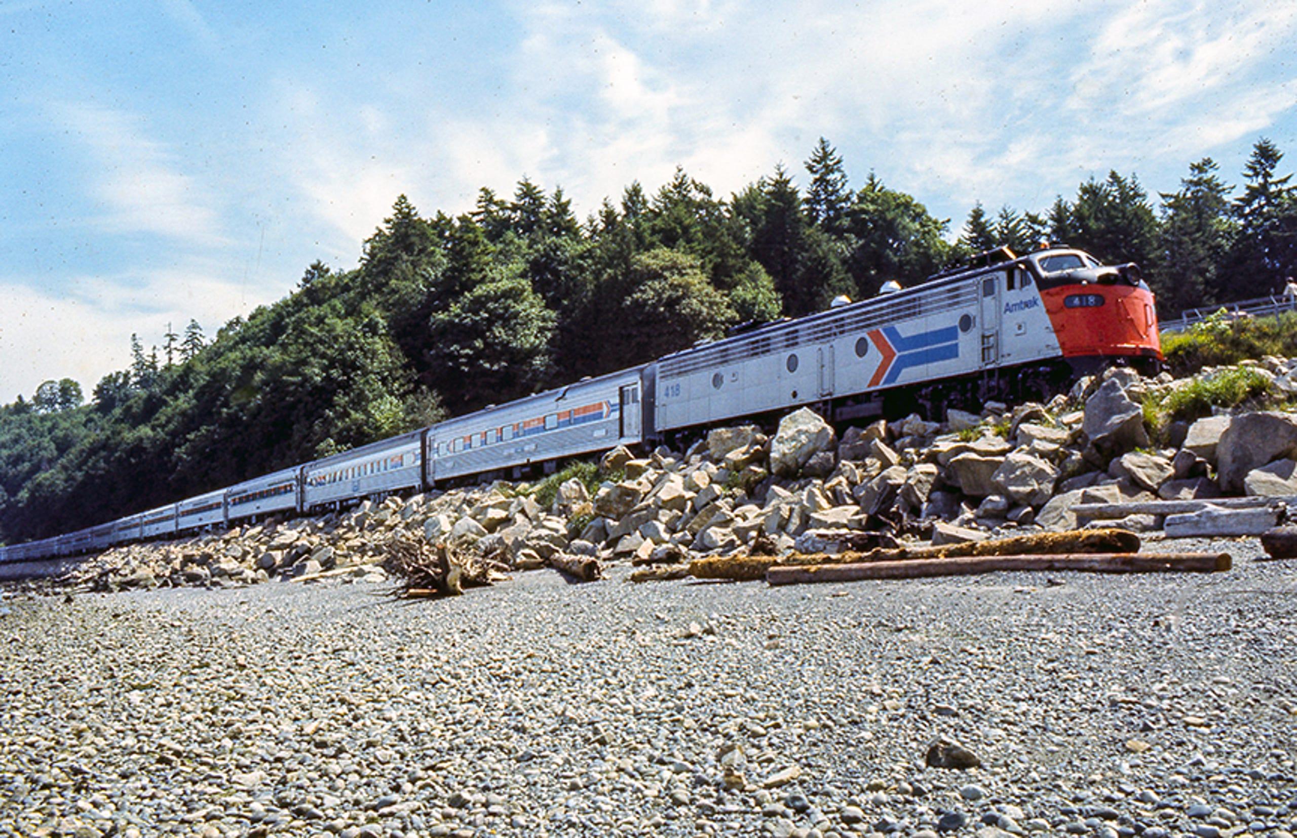45 years of Amtrak locomotives