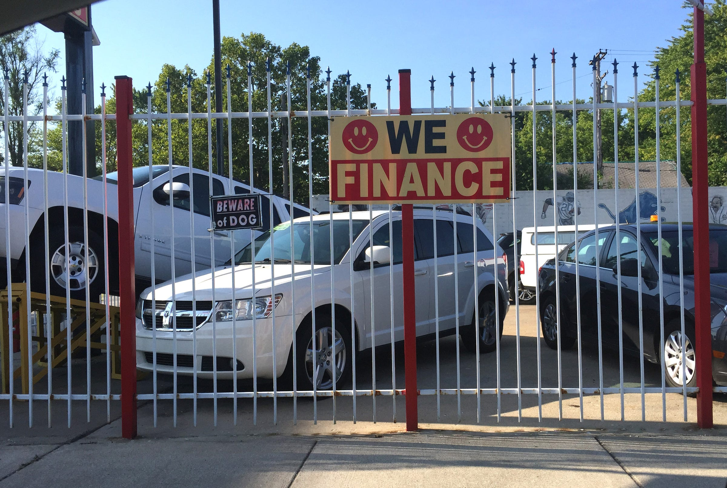 What it takes for risky borrowers to get a car loan