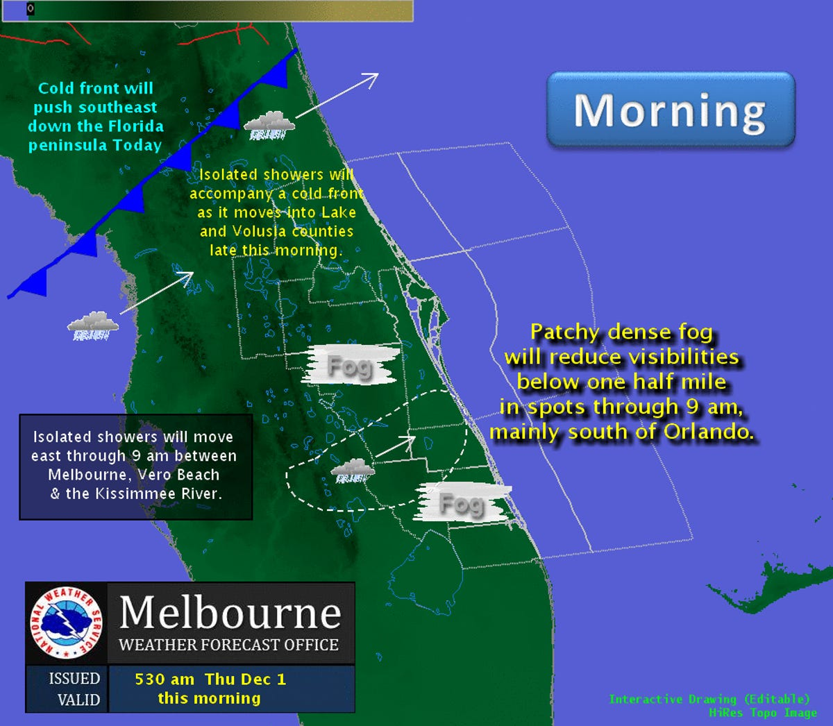 Chance for showers today, followed by possible near record high