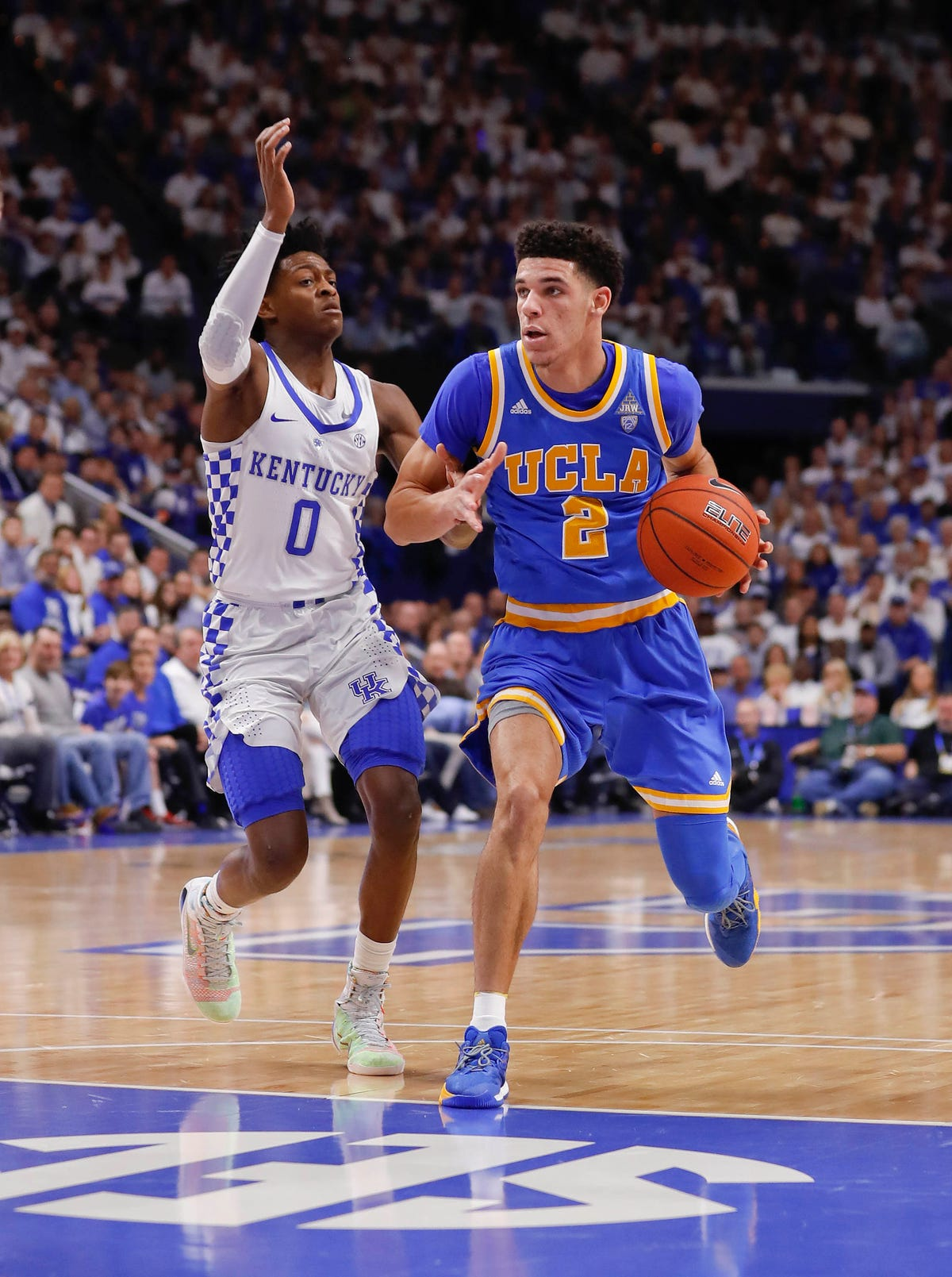 No  9 UCLA goes on the road to hand No  1 Kentucky its first