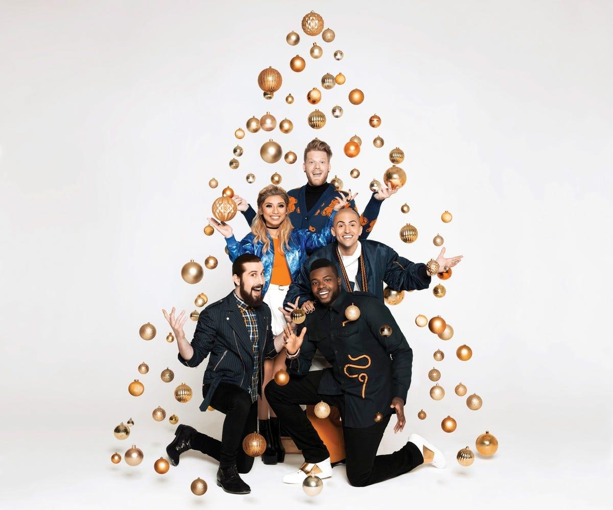 A Pentatonix Christmas' delivers holiday harmony