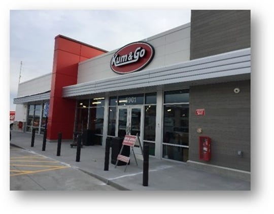 Kum & Go convenience store will open Friday on Mills Civic Parkway in West Des Moines.