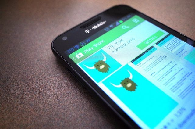 Yik Yak, the once popular and controversial college messaging app, shuts down