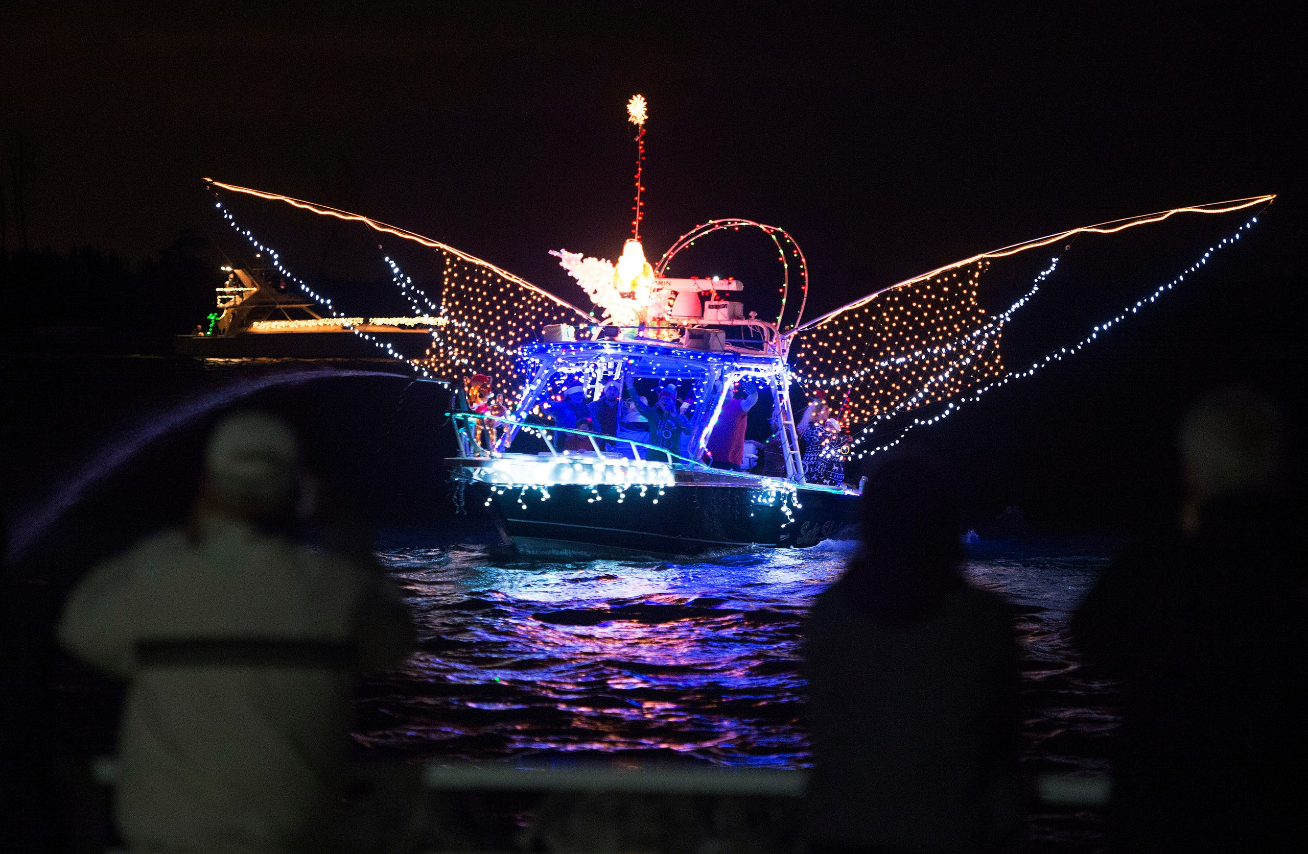 St Lucie County Christmas Boat Parade In Fort Pierce