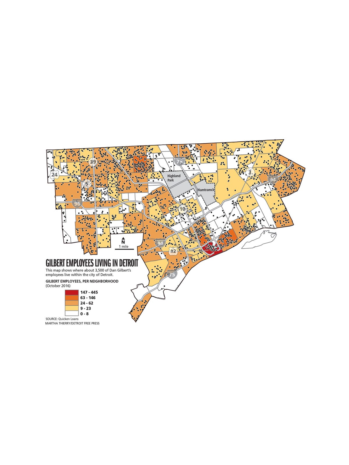 Dan Gilbert: See this map? It's why tax incentives are good