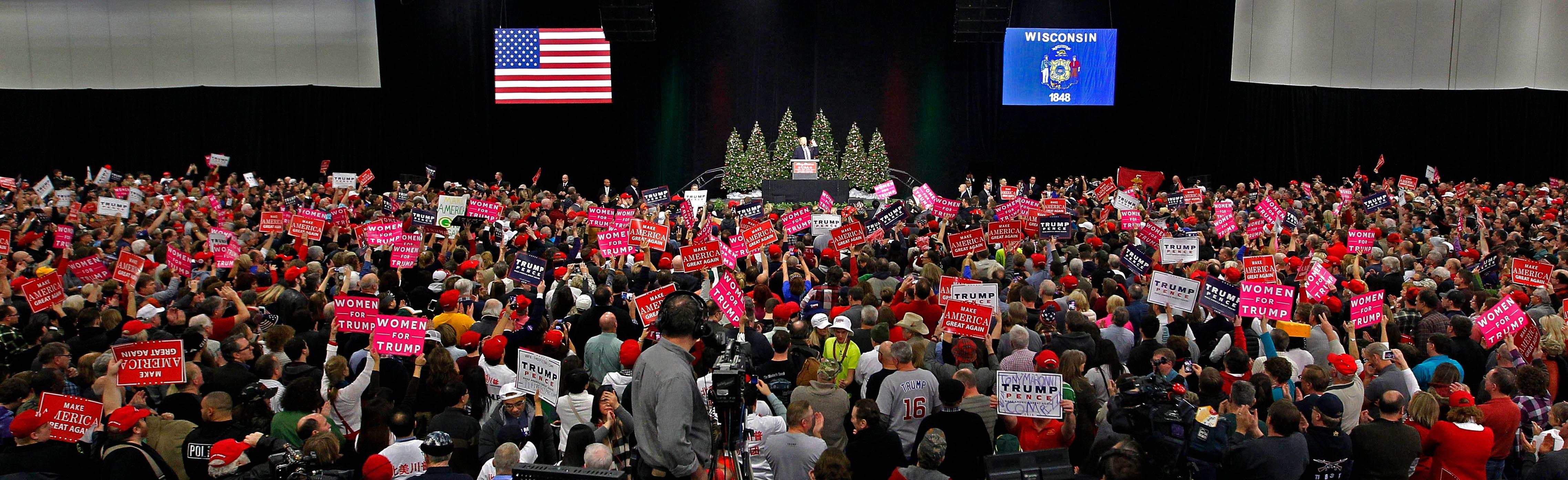 Trump's 'thank you tour' draws enthusiastic crowd to West Allis