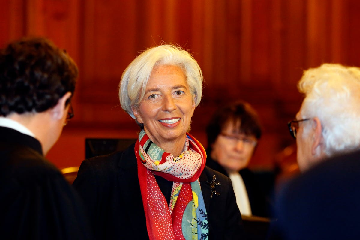 IMF chief Christine Lagarde found guilty of negligence in
