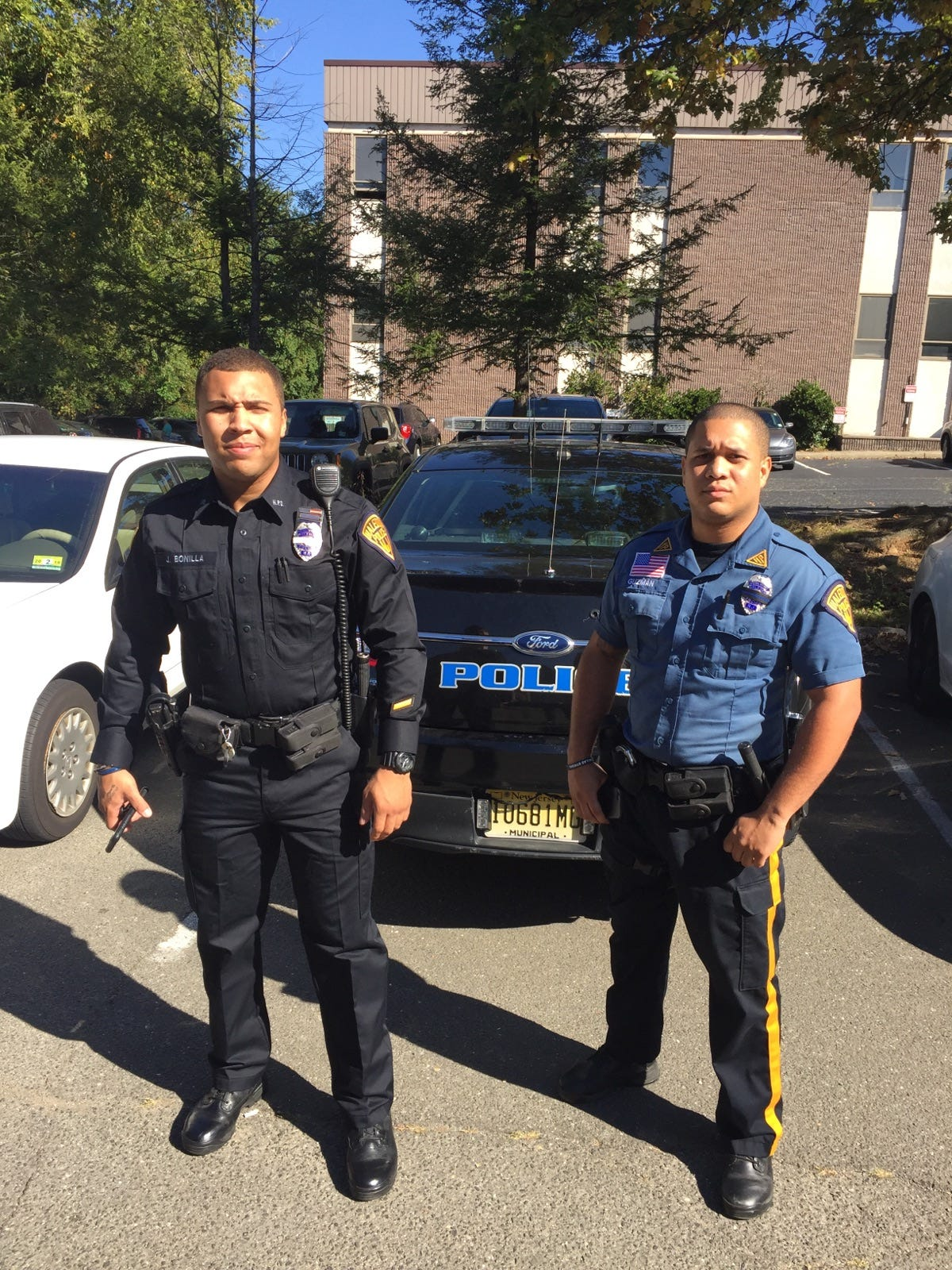 Haledon police out with the old, in with the new uniforms