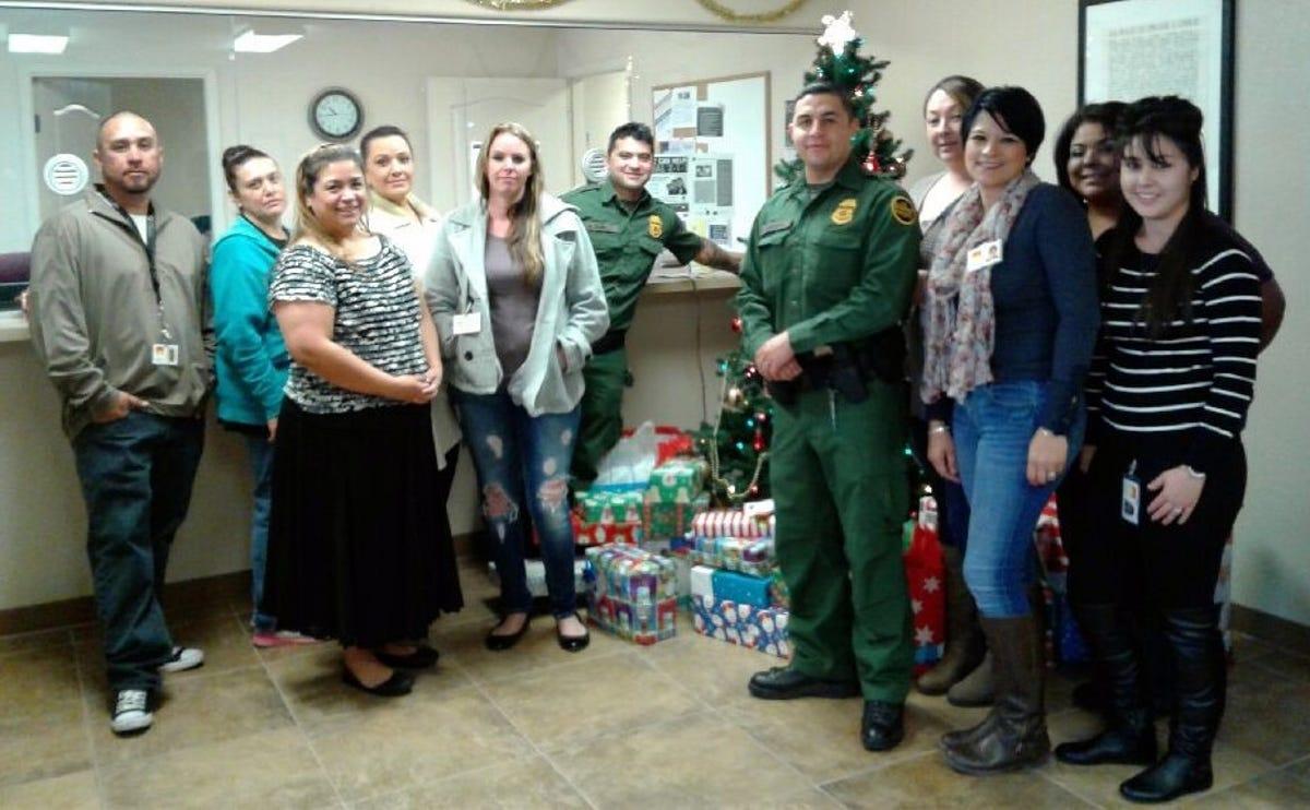 CYFD, Border Patrol pull together