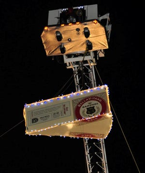 Plymouth's annual Big Cheese drop will be at 10 p.m. on Dec. 31.