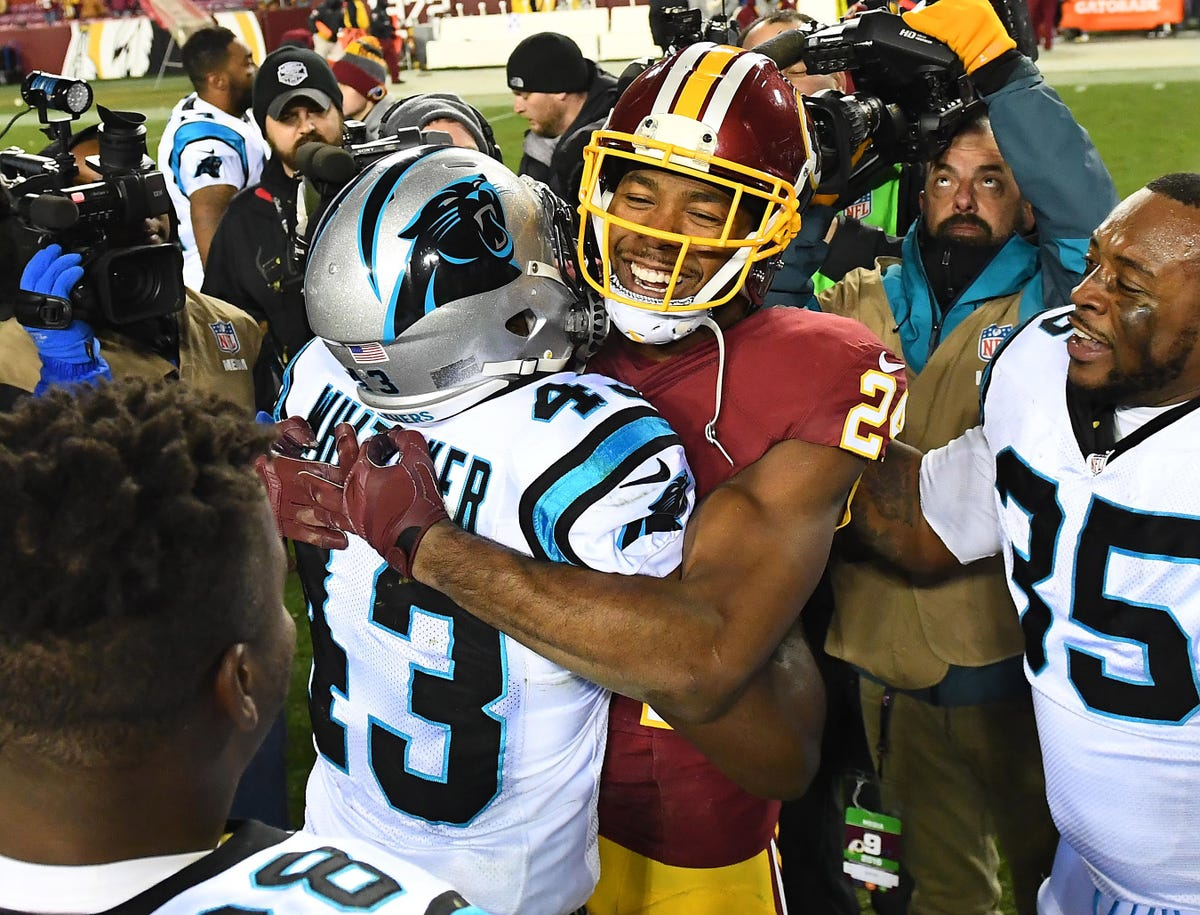 new arrival ca6dd 041f8 Josh Norman sent gifts to entire Panthers team