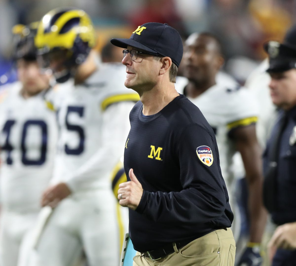 the best attitude 6dd42 cd139 Michigan NFL prospects tell their best Jim Harbaugh stories