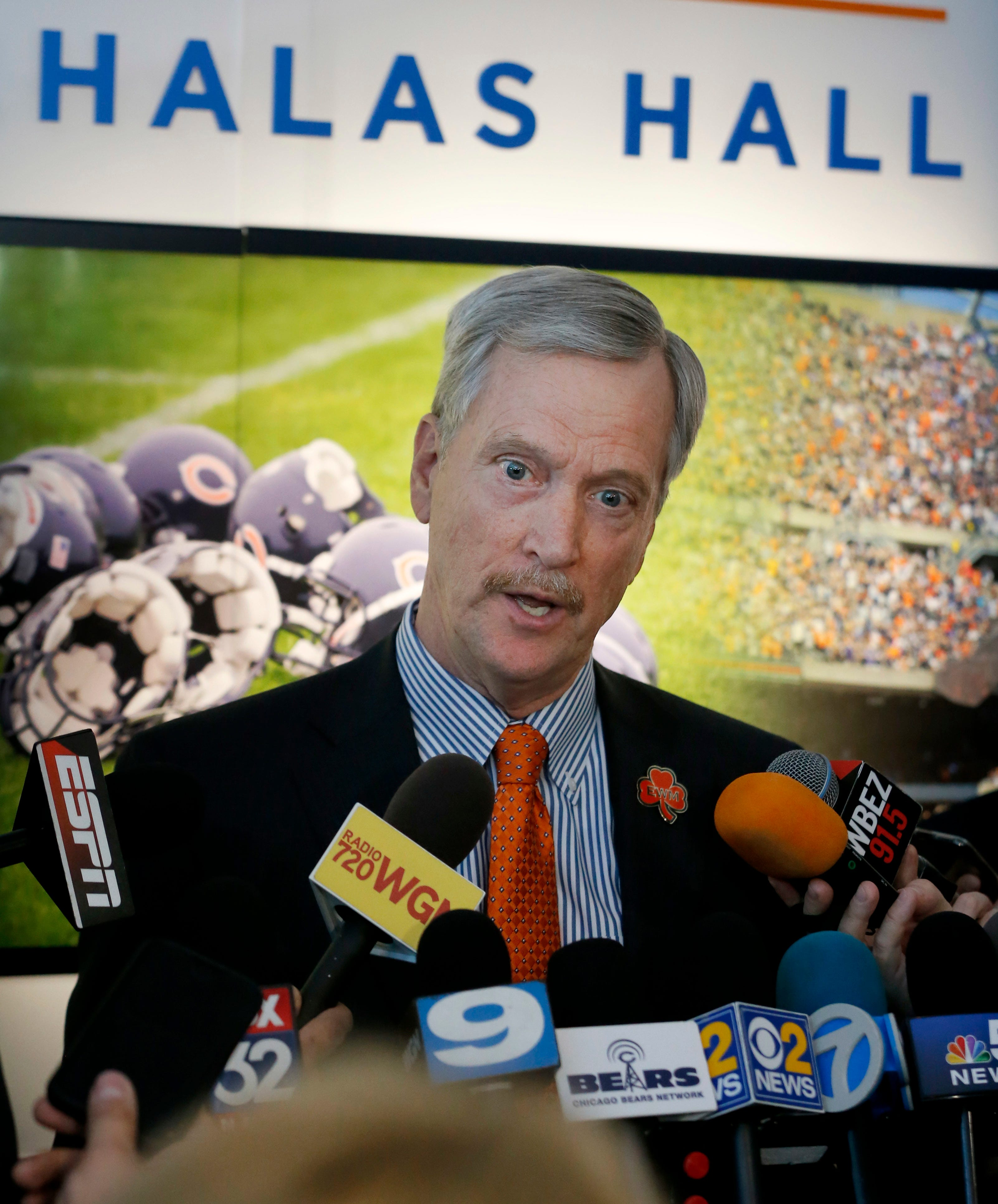 Bears chairman McCaskey: Team supports NFL's national-anthem policy, but it 'isn't perfect'