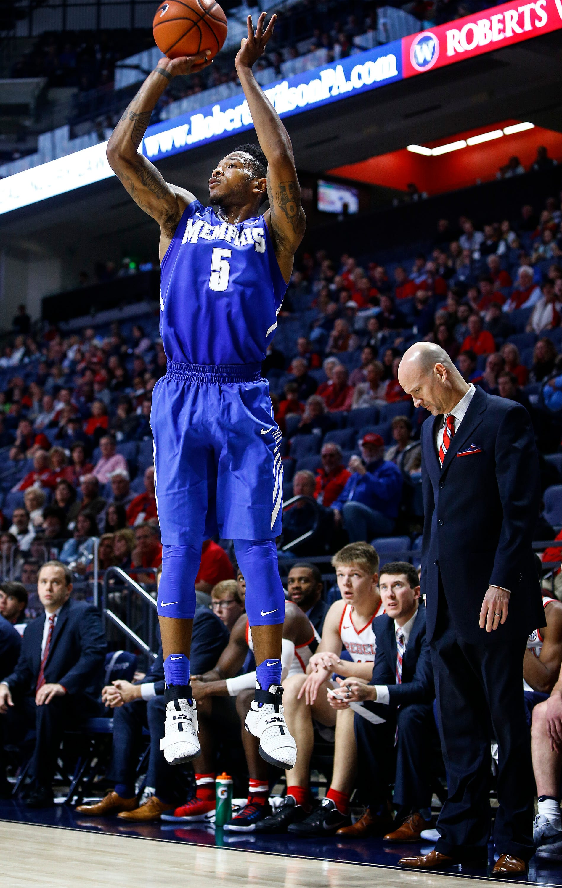 Markel Crawford is transferring to Ole Miss