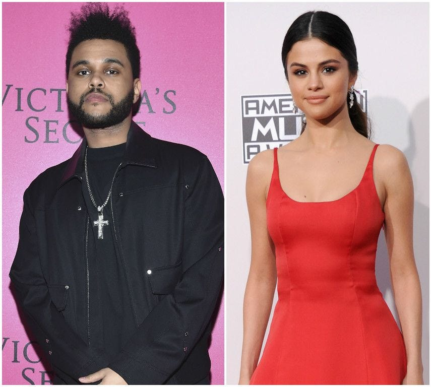 Selena and The Weeknd together Twitter can't handle it