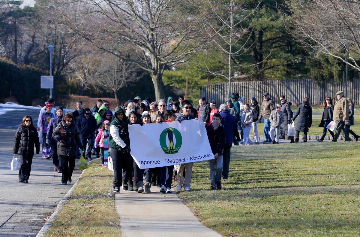 MLK walk aids charitable causes in Montville
