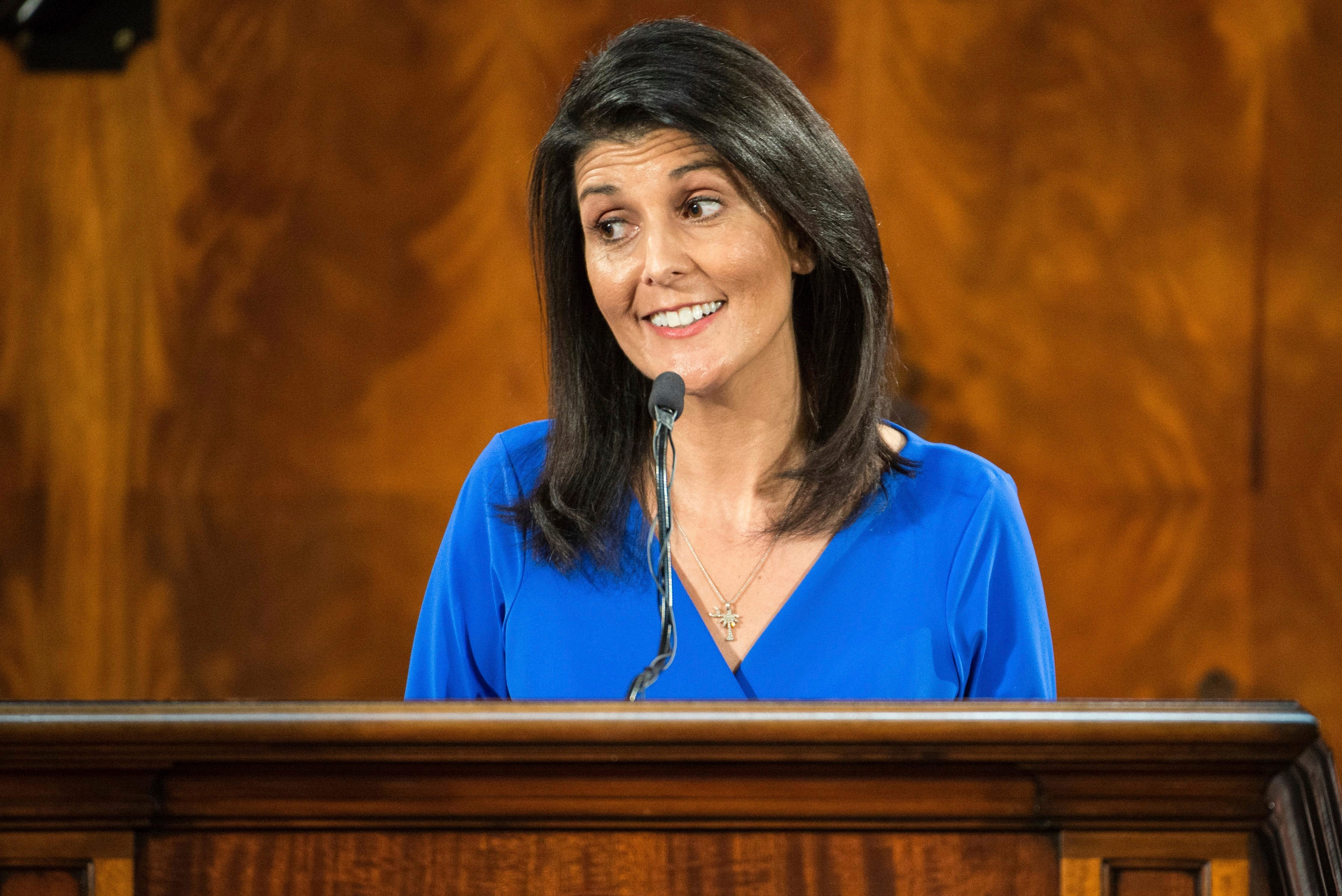 Nikki Haley could face questions about human rights abuses at Senate hearing
