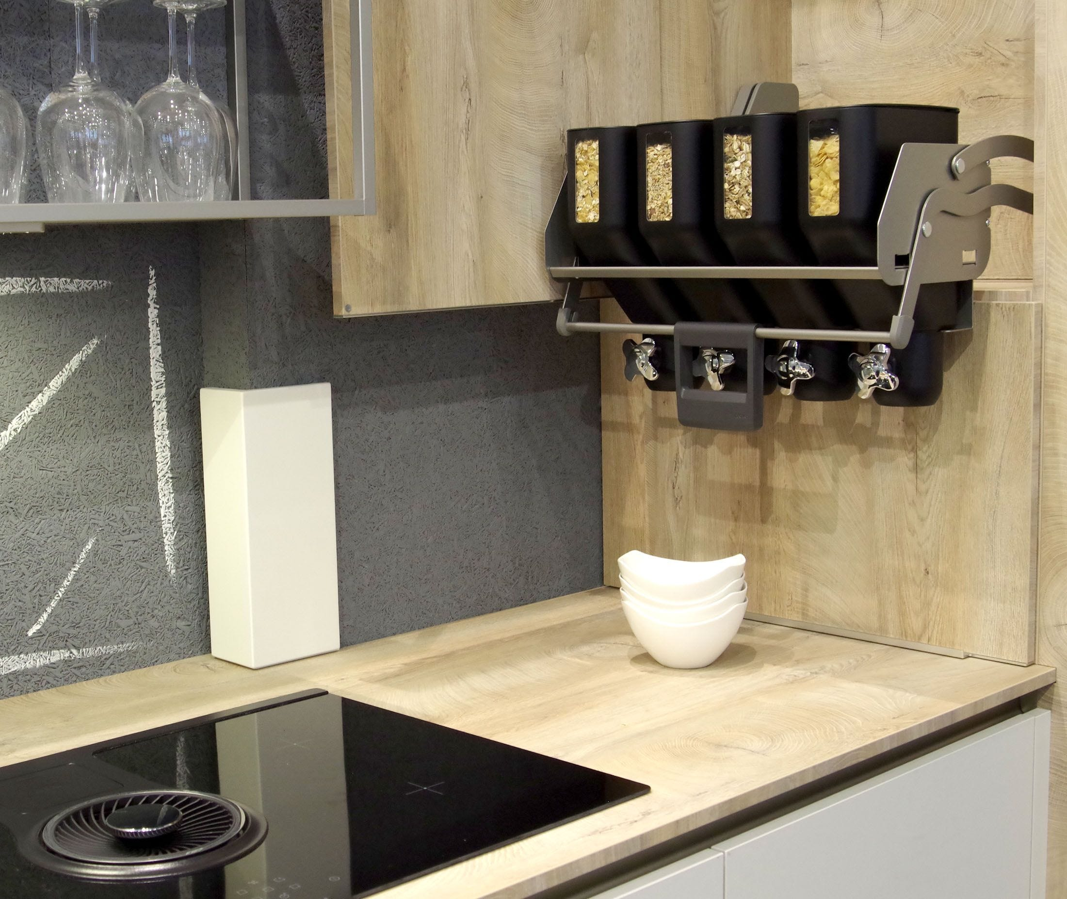 This millennial kitchen has beer robots and lots of cereal