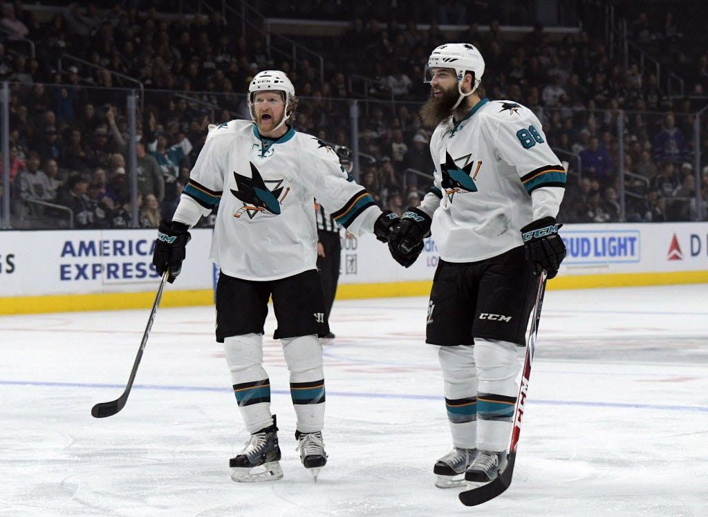 Sharks continue recent winning ways at rival-Kings' Staples Center