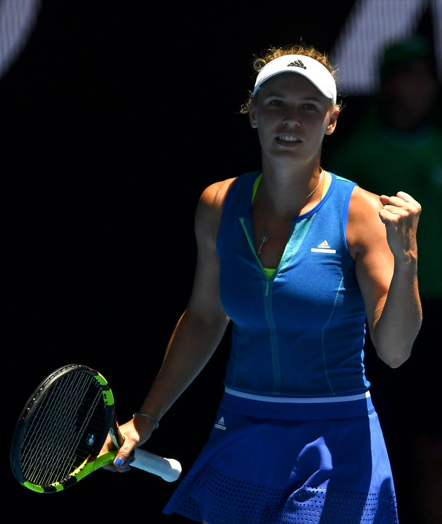 Caroline Wozniacki finding comfort zone in her game