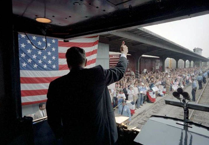 Riding the rails with U.S. presidents