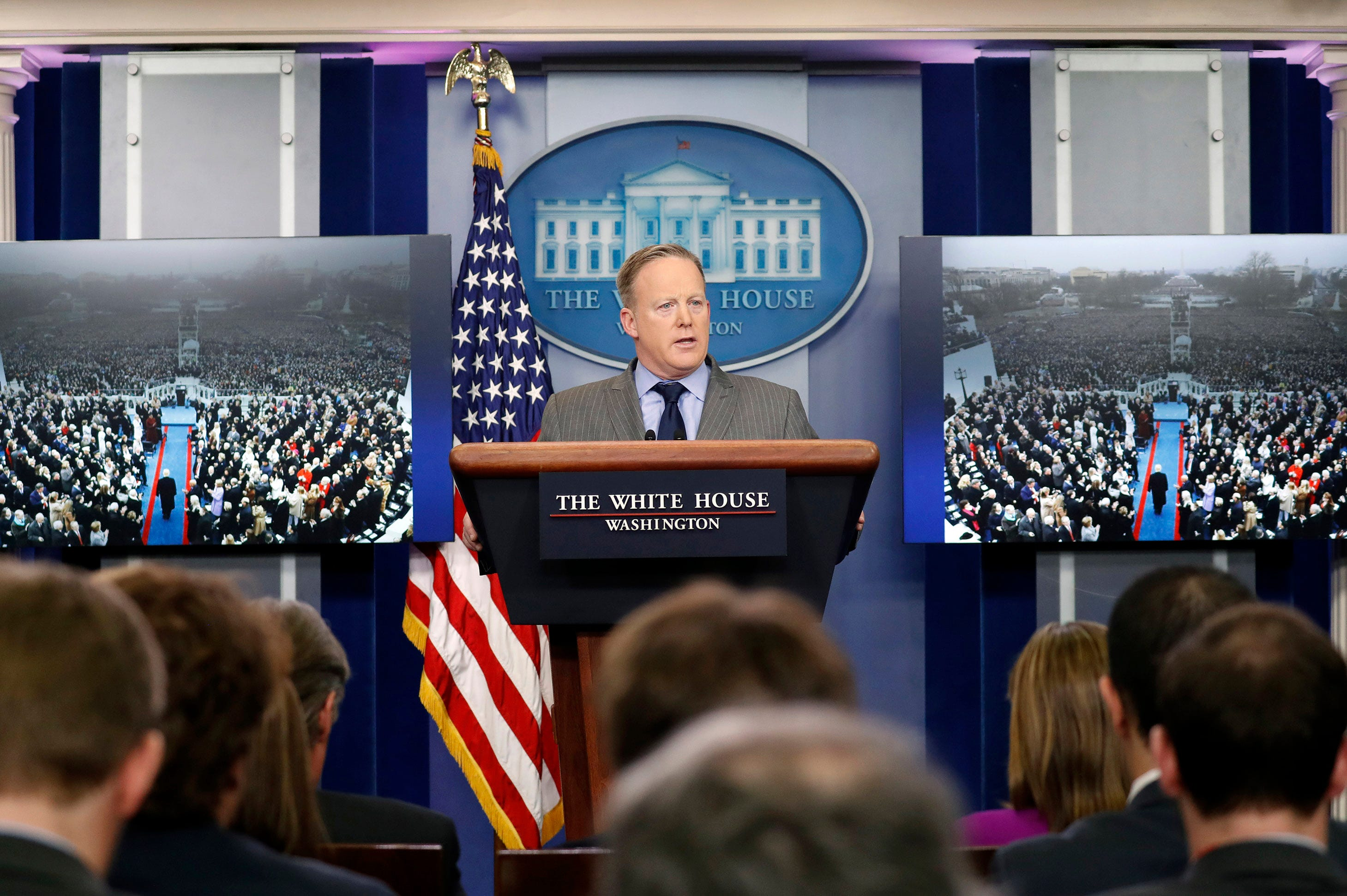 Watch LIVE: Sean Spicer holds White House Press Briefing
