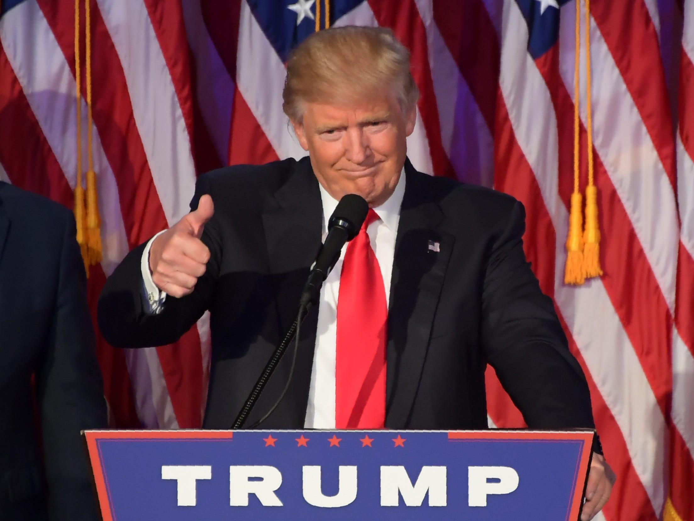 Trump: Why didn't marchers vote?