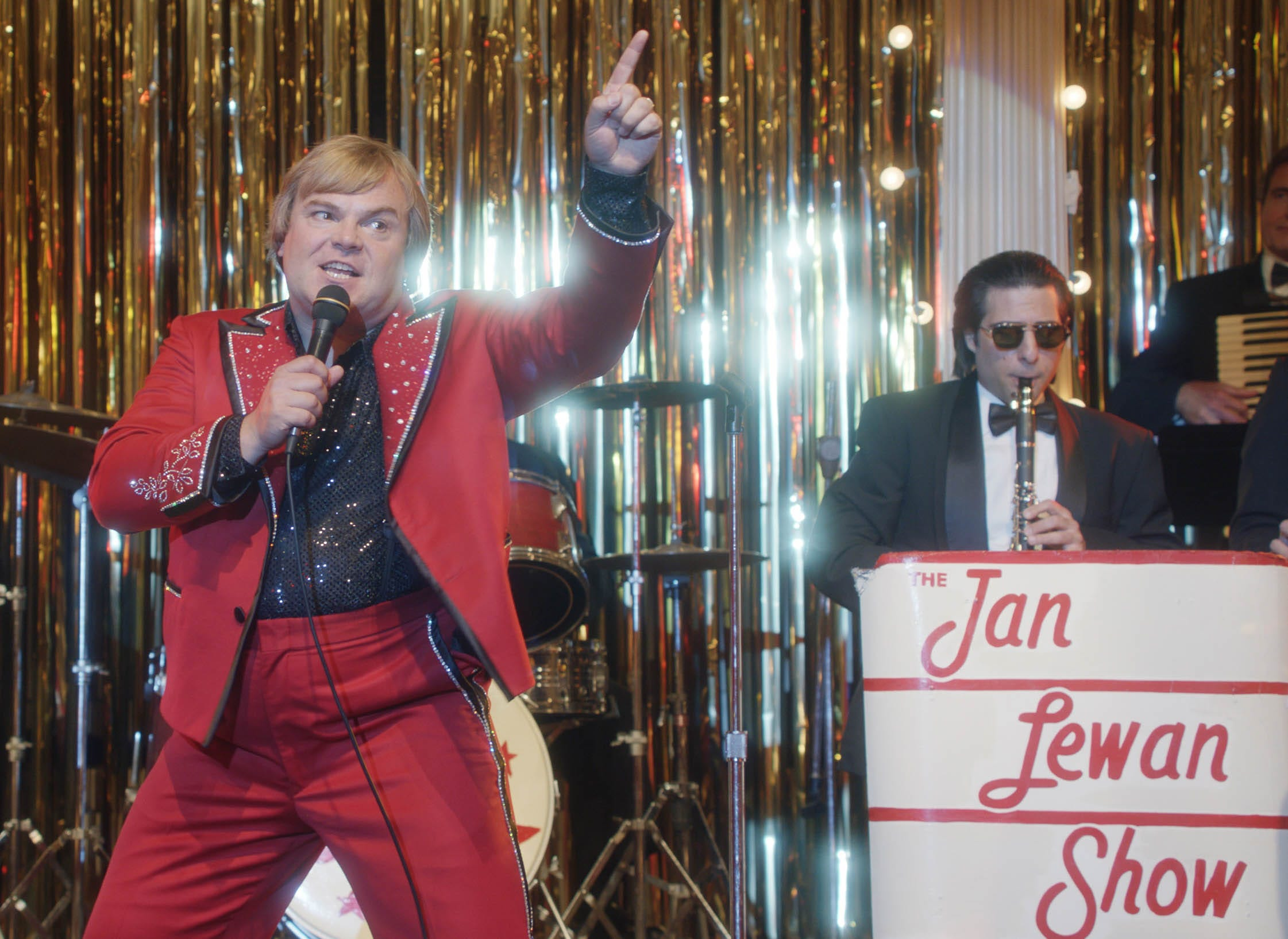 Sundance: Jack Black recruits real-life 'Polka King' for impromptu song