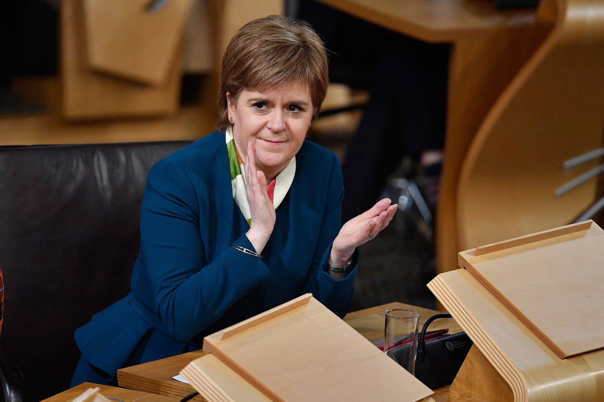 Scottish leader: Government will get vote on bill to trigger Brexit