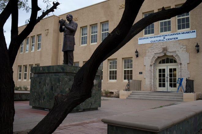 The George Washington Carver Museum and Cultural Center at 415 E. Grant St., Phoenix.