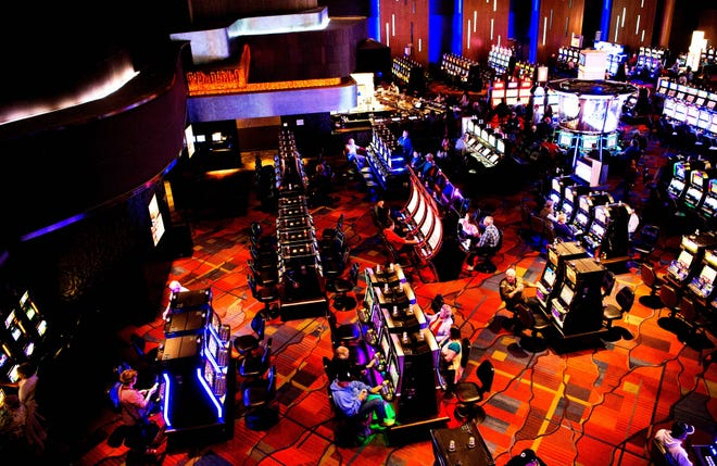 Harrah's Cherokee Casino floor includes 170 tables with live dealers and 1,800 slot machines.