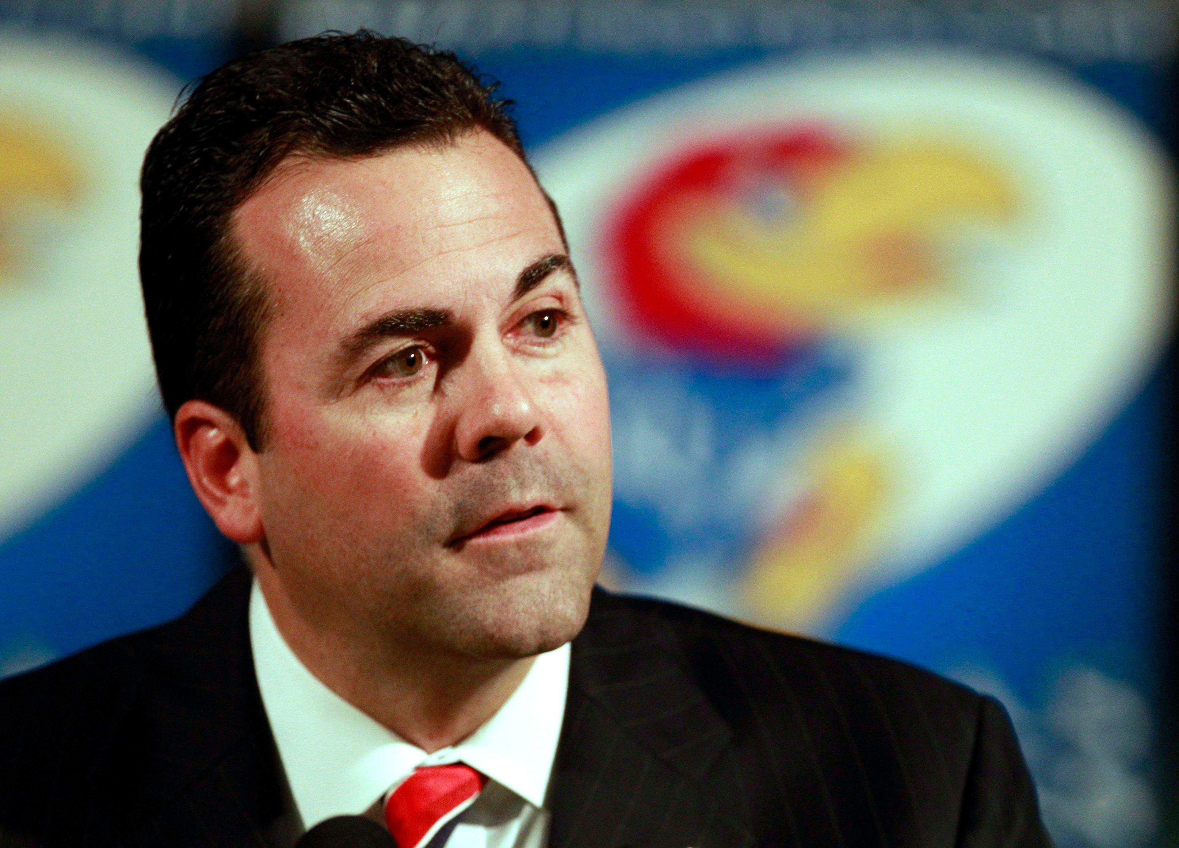 Kansas fires athletic director Sheahon Zenger