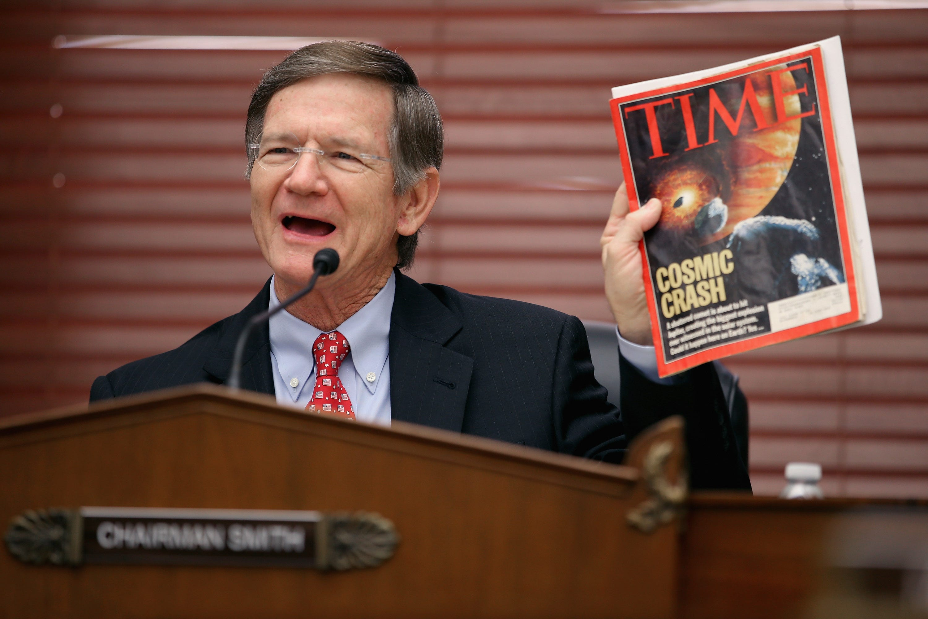 Fund science for a new millennium in America: Lamar Smith