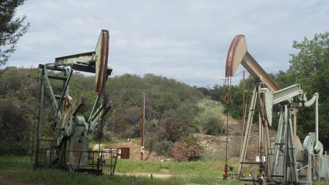 Oil wells are commonly located in unincorporated areas of Ventura County.