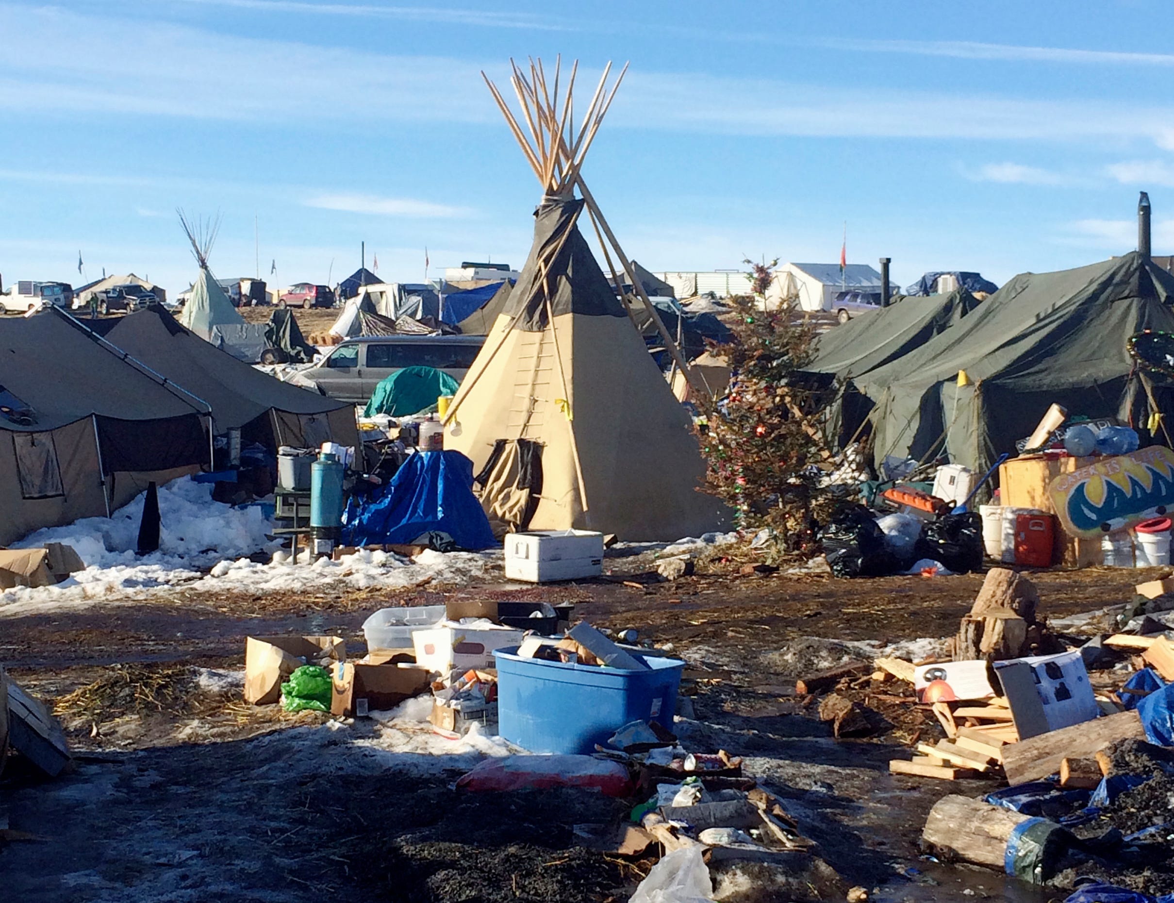 Deadline extension to leave Dakota Access oil pipeline protest camp not granted