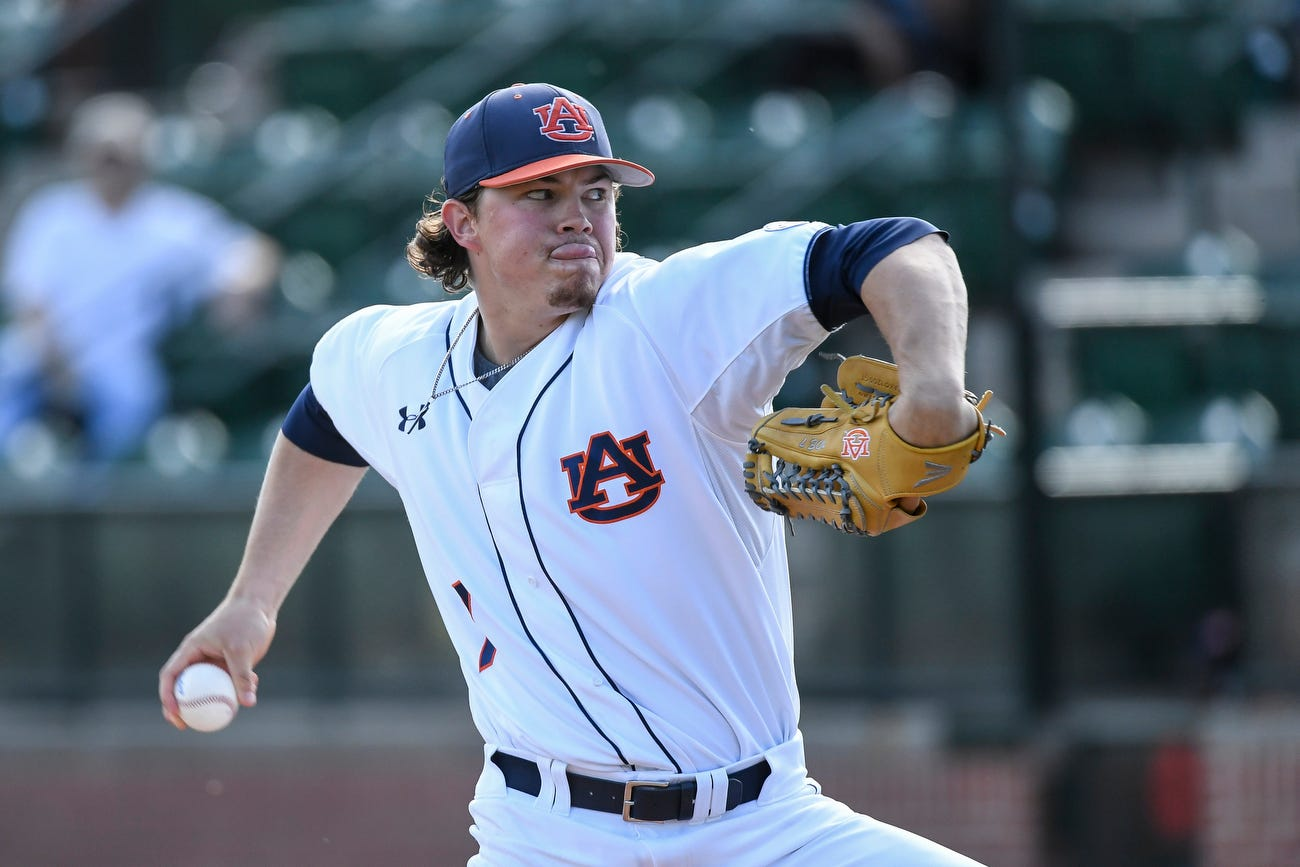 MSU ace Konnor Pilkington dominates Auburn in 5-2 win