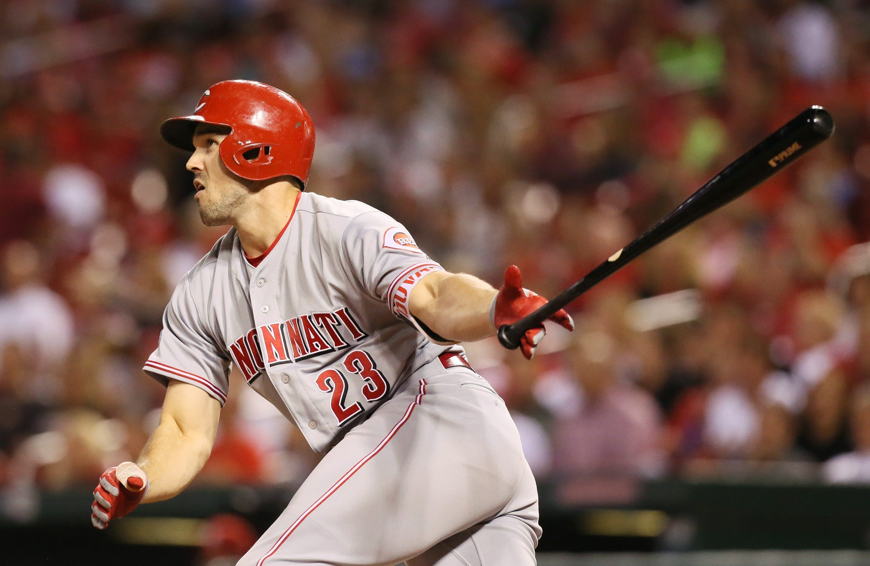 Reds OF Duvall trying to build on 2016 season.