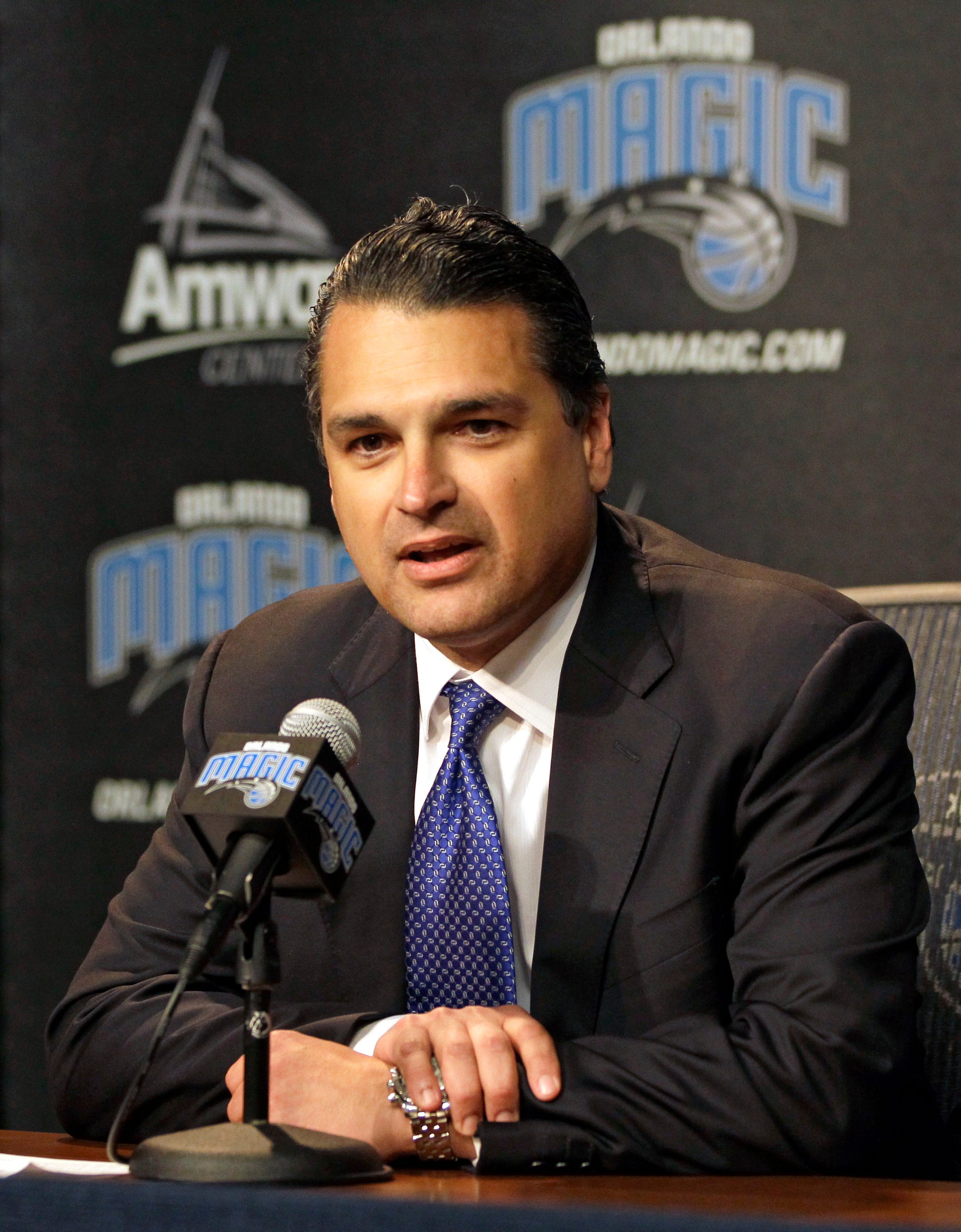 Magic President: Season has been 'incredibly disappointing'