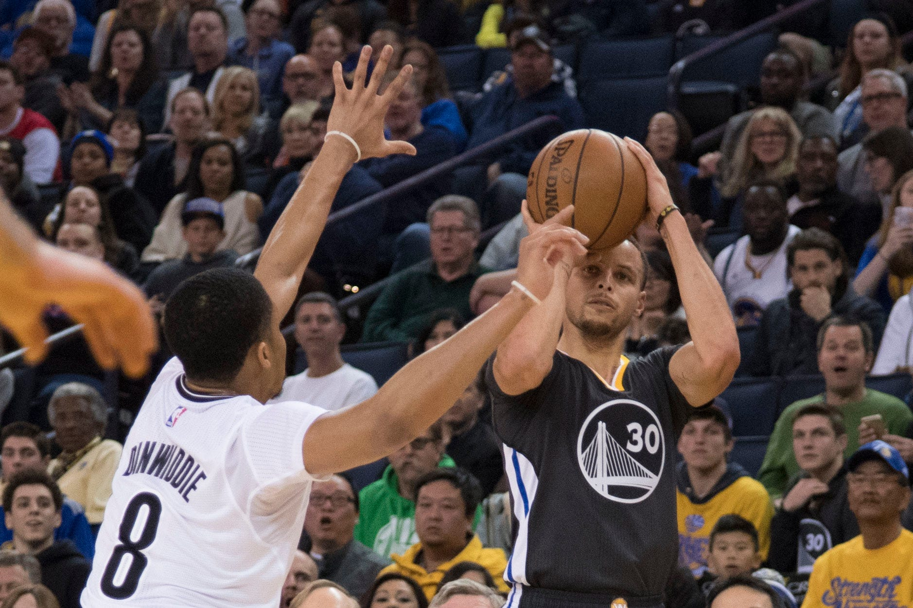 Splash Brothers lead Warriors over Nets with Kevin Durant out to clinch playoff spot