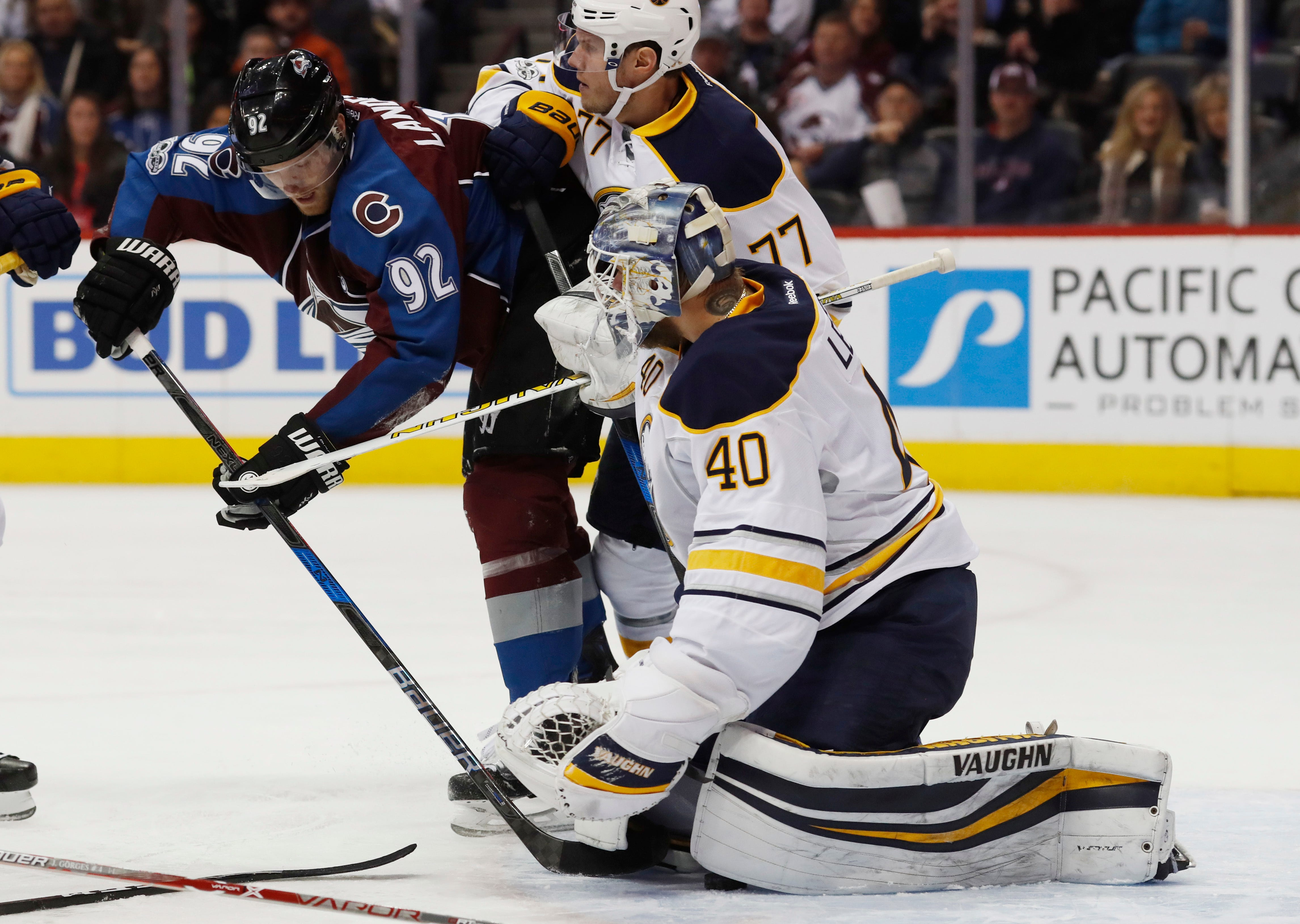 Jeremy Smith gets first NHL win as Avalanche beat Sabres 5-3