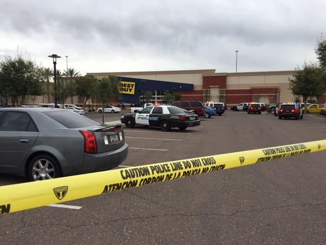 Suspected gunman in fatal Best Buy shooting has died